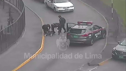 Los videos de la persecución y balacera con 'marcas' en La Victoria
