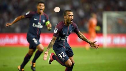 El golazo de Dani Alves en el primer minuto del PSG vs. Bayern Munich