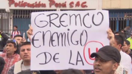 Barristas de Universitario de Deportes amenazaron a Gremco y la Sunat