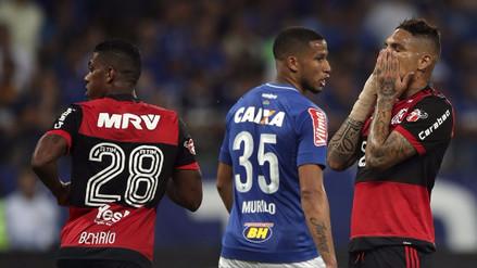 Flamengo perdió la Copa de Brasil a pesar que Guerrero y Trauco anotaron de penal