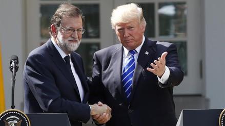"""Donald Trump: """"Sería una tontería que Cataluña no siga en España"""""""