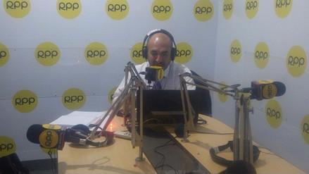 Doctor Elmer Huerta emite su programa desde Trujillo