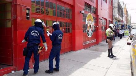 Reponen energía eléctrica a compañía de bomberos de Chiclayo