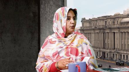 Embajadora saharaui que estaba retenida en el Jorge Chávez fue reembarcada a España