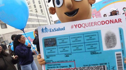 Un donante por cada mes se registra en La Libertad