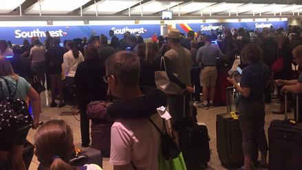 Caos en aeropuertos de todo el mundo por falla informática en los check-in