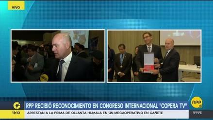 El Grupo RPP fue premiado en el Congreso Internacional de Periodismo, Radio y Televisión