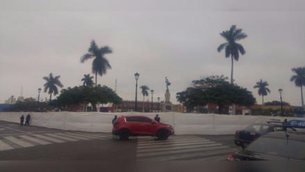 Trujillo: alcalde asegura que plaza será inaugurada el 10 de noviembre