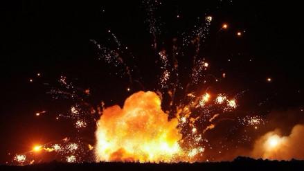 Un arsenal de armas con 18 mil toneladas de municiones estalló en Ucrania