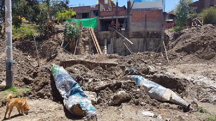 Huancayo: Varias casas inundadas por mala construcción