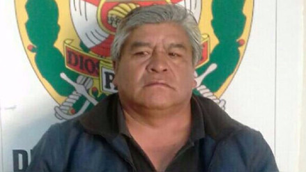 Capturan a prófugo alcalde de San Miguel de Corpanqui