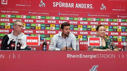 Las primeras palabras de Claudio Pizarro como nuevo jugador del Colonia