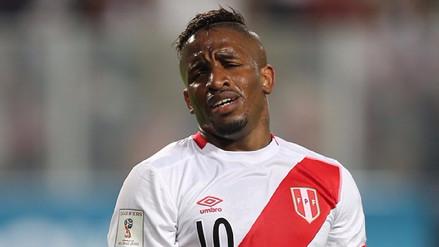 Jefferson Farfán se lesionó y está en duda para los partidos de Perú