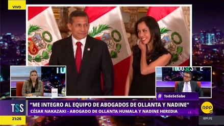 Nakazaki sobre Humala y Heredia: