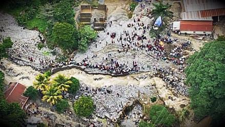 Dos muertos y seis desaparecidos tras alud en Guatemala