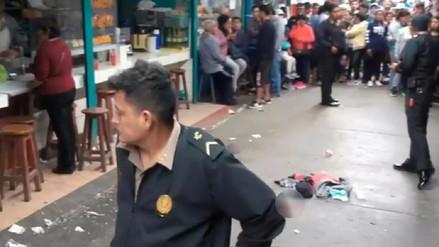 Dos muertos y cuatro heridos dejó balacera en mercado de Barranca