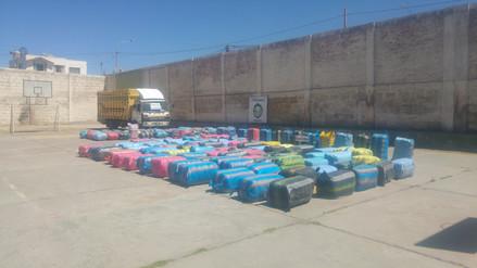 Incautan mercadería de contrabando valorizada en más 90 mil dólares