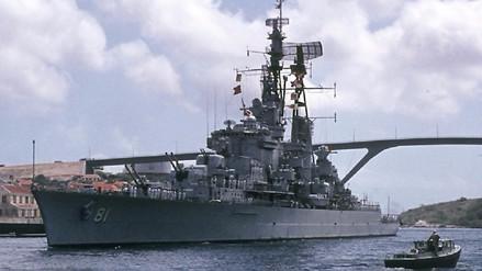 Último crucero de la II Guerra Mundial fue dado de baja en el Perú