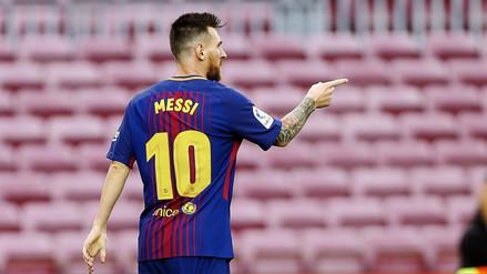 Barcelona goleó por 3-0 a Las Palmas con doblete de Lionel Messi