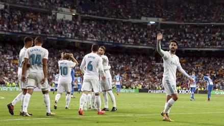Real Madrid venció al Espanyol y rompió su mala racha en casa por La Liga