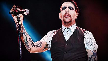 Marilyn Manson sufrió accidente en pleno concierto y fue hospitalizado