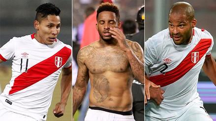 Oficial: las lesiones de Jefferson Farfán, Raúl Ruidíaz y Alberto Rodríguez