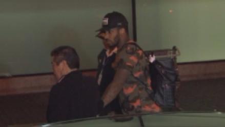 Jefferson Farfán llegó a Lima para ser evaluado por su lesión muscular