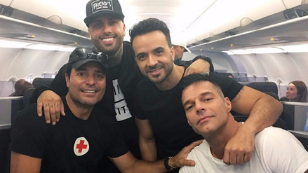 Luis Fonsi, Ricky Martin, Chayanne y Nicky Jam se unen por Puerto Rico