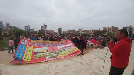 Obreros municipales de JLO suspenden medida de lucha