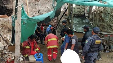 Recuperan otros dos cuerpos de mineros sepultados en Acarí