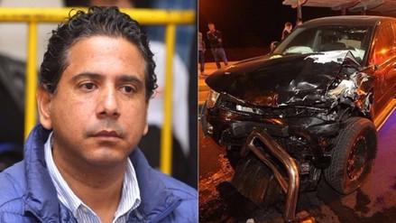Poder Judicial liberará a Guillermo Riera, autor de un accidente en la Costa Verde