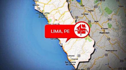 Nuevo sismo de 3.5 grados remece Matucana