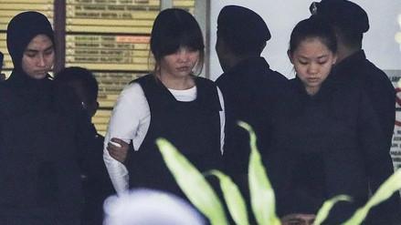 Las acusadas del asesinato de Kim Jong-nam se declararon no culpables