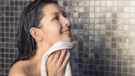 Puedes mantener la toalla de baño máximo durante dos días