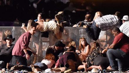 Las fotos tras la masacre en el concierto en Las Vegas