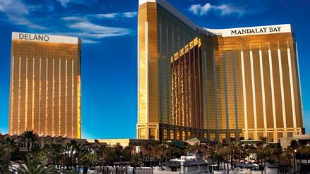 Mandalay Bay, el hotel de lujo de Las Vegas desde donde atacó el asesino