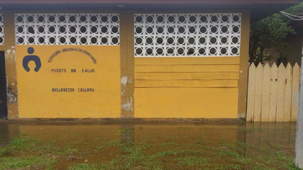 Pacientes denuncian abandono de Centro de Salud por parte de las autoridades en Loreto