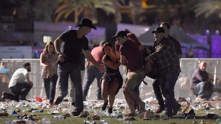 Video muestra el pánico de la gente que recibía los disparos en la matanza en Las Vegas