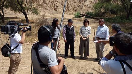 Filman documental sobre las coincidencias de Egipto, Perú y Japón