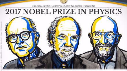 Rainer Weiss, Barry Barrish y Kip Thorne ganaron el Nobel de Física 2017