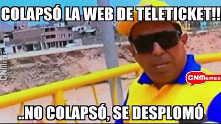 Los memes que generó la venta de entradas online del Perú vs. Colombia