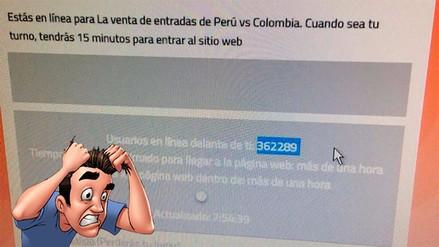 Se agotaron las entradas para el Perú vs. Colombia y usuarios reclaman en las redes sociales
