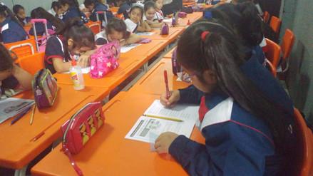 Evaluación Regional se aplicó a más de 157 mil escolares lambayecanos