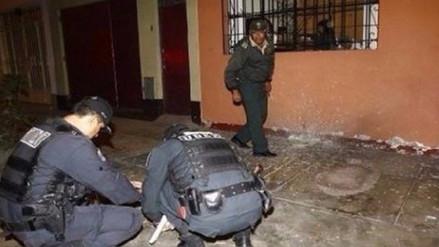 Explotan dinamita frente a ferretería en Huamachuco