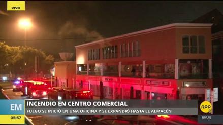 Alarma en La Molina por un incendio en un centro comercial