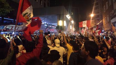 La Selección Peruana tuvo un recibimiento nunca antes visto en Buenos Aires
