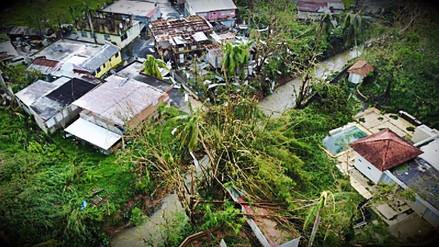 Se elevó a 34 la cifra de muertos tras el paso del huracán Maria por Puerto Rico
