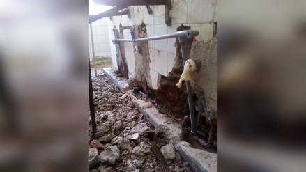 Tarma: tuberías antiguas colapsan y generan inundaciones en oficinas