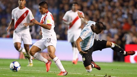 Perú empató a Argentina y depende de sí mismo para ir a Rusia 2018