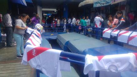 Trujillo: camisetas de la selección peruana se adquieren desde 12 soles